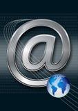 Concepto del email/del Internet Fotografía de archivo