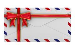 Concepto del email en el fondo blanco Fotos de archivo libres de regalías