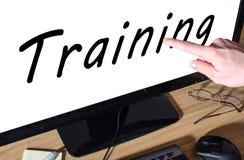 Concepto del entrenamiento Imagenes de archivo