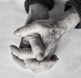 Concepto del envejecimiento fotografía de archivo libre de regalías