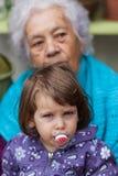 Concepto del envejecimiento Imagen de archivo libre de regalías