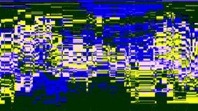 Concepto del error de ninguna señal TV Imagenes de archivo