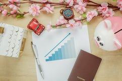 Concepto del escritorio de oficina de negocios imágenes de archivo libres de regalías