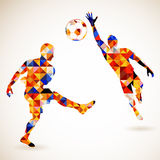Concepto del fútbol Foto de archivo
