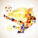 Concepto del fútbol Imagen de archivo