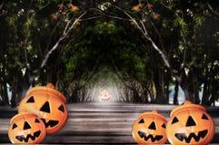 Concepto del feliz Halloween Imágenes de archivo libres de regalías