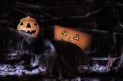 Concepto del feliz Halloween Imagen de archivo libre de regalías