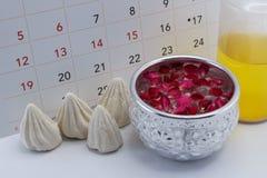 Concepto del festival de Songkran (Año Nuevo de Tailandia) Imagenes de archivo