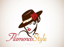 Concepto del flamenco Fotos de archivo