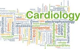 Concepto del fondo de la cardiología Foto de archivo
