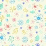 Concepto del fondo de la flor Ilustración Fotografía de archivo libre de regalías