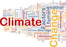 Concepto del fondo del cambio de clima stock de ilustración