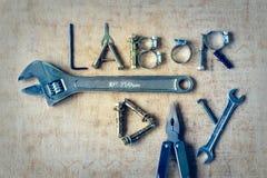 Concepto del fondo del Día del Trabajo Imagenes de archivo