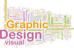 Concepto del fondo del diseño gráfico Fotos de archivo