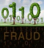 Concepto del fraude stock de ilustración