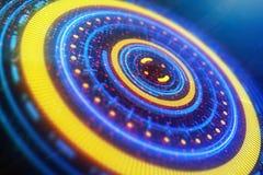 Concepto del futuro, de la innovación y del holograma libre illustration