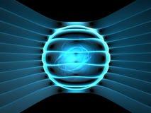 Concepto del generador de la energía ilustración del vector