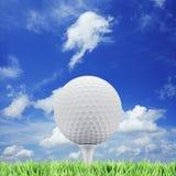 Concepto del golf Imagen de archivo libre de regalías