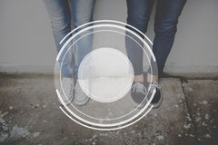 Concepto del gráfico de la fotografía de la imagen de la lente de cámara Fotografía de archivo