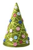 Concepto del hilado del árbol del Año Nuevo de la Navidad Imágenes de archivo libres de regalías