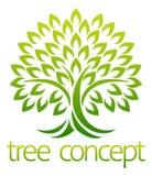 Concepto del icono del árbol stock de ilustración