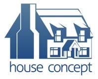 Concepto del icono de la casa Fotografía de archivo libre de regalías