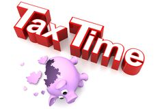 Concepto del impuesto Imagenes de archivo