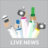 Concepto del informe vivo, Foto de archivo