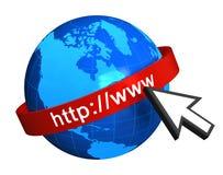 Concepto del Internet ilustración del vector