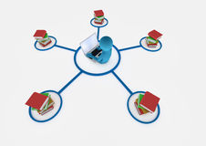 Concepto del Internet Fotografía de archivo libre de regalías