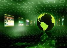 Concepto del Internet Foto de archivo