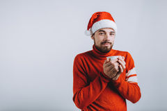 Concepto del invierno - día de fiesta de la Navidad Fotografía de archivo libre de regalías