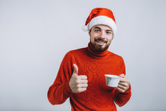 Concepto del invierno - día de fiesta de la Navidad Fotos de archivo libres de regalías