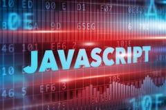 Concepto del Javascript Imagen de archivo libre de regalías