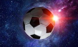 Concepto del juego de fútbol fotografía de archivo libre de regalías