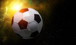 Concepto del juego de fútbol imagen de archivo libre de regalías