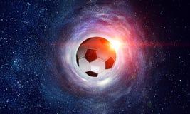 Concepto del juego de fútbol fotos de archivo libres de regalías