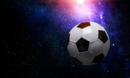Concepto del juego de fútbol foto de archivo