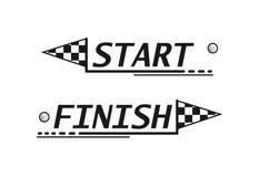 Concepto del logotipo del deporte Imagen de archivo libre de regalías