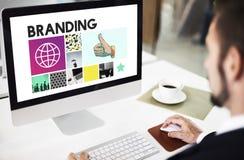 Concepto del márketing de Copyright de la publicidad de marcado en caliente imagen de archivo