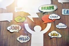 Concepto del márketing de Internet Imagenes de archivo