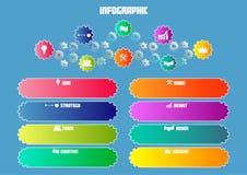 Concepto del mecanismo del negocio Stock de ilustración