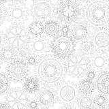 Concepto del mecanismo del negocio abstraiga el fondo Imagen de archivo libre de regalías