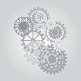 Concepto del mecanismo del negocio abstraiga el fondo Foto de archivo libre de regalías
