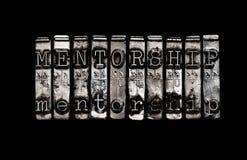 Concepto del Mentorship Fotos de archivo