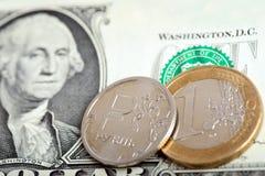 Concepto del mercado de intercambio de moneda Imagen de archivo libre de regalías