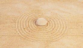 Concepto del modo de pensar del zen Imagen de archivo libre de regalías