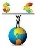 Concepto del negocio stock de ilustración