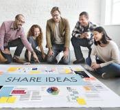 Concepto del negocio de la estrategia de marketing del documento Imagen de archivo libre de regalías