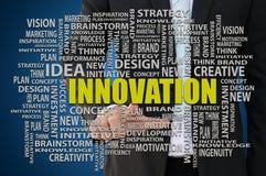 Concepto del negocio de la innovación Imagenes de archivo